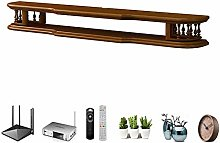XCJJ Solid Wood Tv Stand Cabinet, Wall Mounted Tv