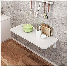 XCJJ Wall-Mounted Drop-Leaf Table, Floating