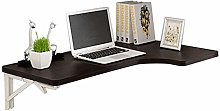 XCJJ Wall-Mounted Laptop Stand Desk Household