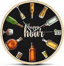 XCJX 12 inch frameless Happy Hour Liquor Time