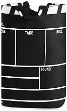 XCNGG Collapsible Laundry Basket Clapperboard