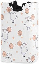 XCNGG Collapsible Laundry Basket Cute Sheep