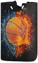XCNGG Collapsible Laundry Basket Fire Basketball