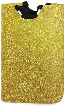 XCNGG Collapsible Laundry Basket Glitter Sparkly