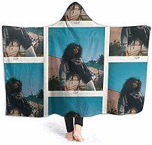 XCNGG Hooded Blanket Sza Comfortable Throw
