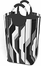 XCNGG Laundry Hamper Storage Bin Abstract Gray