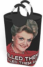 XCNGG Murder She Wrote Laundry Bags Large Laundry