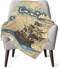 XCNGG Nautical Captain Baby Blanket All Season,