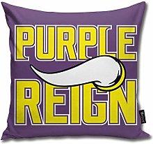 XCNGG Purple Reign Household Sofa Car Cushion