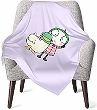 XCNGG Sarah & Duck Baby Blankets with Cute