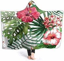 XCNGG Tropical Morning Glory Flower Hoodie