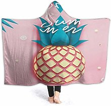 XCNGG Tropical Pinapple Summer Hooded Blanket