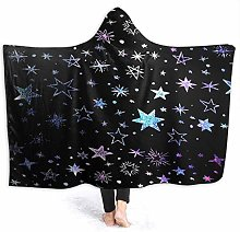 XCNGG Various Shaped Stars Galaxy Pattern Hoodie