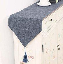 XCSLH Table Runners Dark Gray,Modern Simple Cotton