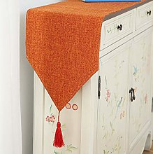 XCSLH Table Runners Orange,Modern Simple Cotton