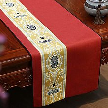 XCSLH Table Runners,Red Chinese Style Vintage