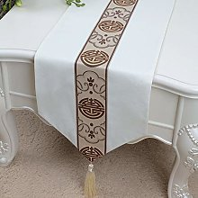 XCSLH Table Runners,White Vintage Cotton Linen