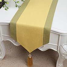 XCSLH Table Runners,Yellow Chinese Style Cotton