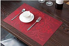 XCY Anti-Scalding Pad Placemats Patterned Black