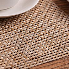 XCY Anti-Scalding Pad Placemats PVC Cafe Western