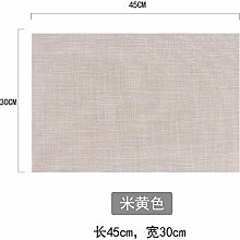 XCY Anti-Scalding Pad Placemats Simple Imitation