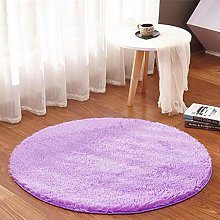 XCYG Silk Wool Round Plush Carpet Tent Rug Desk