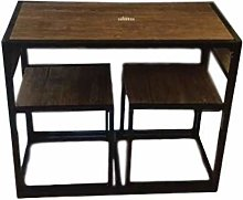 XDFL Dining Chair Table Set Kitchen Breakfast Bar
