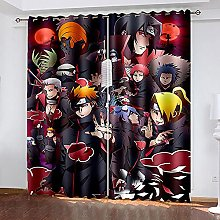 XDJQZX Curtains For Living Room Eyelet 79X63 Inch