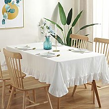 XDLUK Tablecloth Cotton Linen Rectangular and