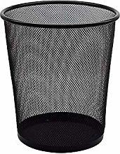 XDYNJYNL Space-Saving Trash Can 10L Black