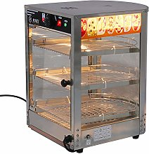 XEMQENER 3-Tier Food Warmer Countertop Commercial
