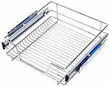 XEMQENER Heavy Duty Kitchen Pull Out Wire Baskets