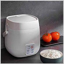 XER 1.2L Mini Rice Cooker Steamer, 200W Electric
