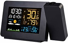 XF-B Digital Radio Projection Alarm Clock Weather