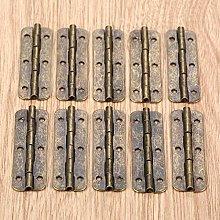 XFCNOI 10Pcs Metal Cabinet Door Luggage Long Hinge