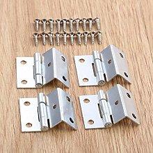 XFCNOI 4Pcs 25 * 15 * 12mm Cabinet Hinge Door