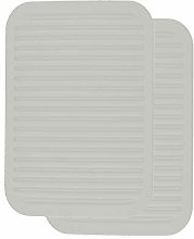 XFentech Gray Silicone Trivet - Non-Slip Heat