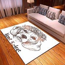 XFHHXFY Carpet Area Rug Animal Dog Bedroom Carpet
