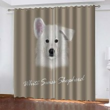 XFHHXFY Duvet Cover Animal Dog Printed Polyester