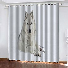 XFHHXFY Duvet Cover Animal Wolf Printed Polyester