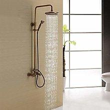 XFSE Shower Tap Faucet Set Copper Household Shower