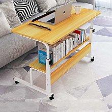 XFXDBT Computer Desk With Storage Shelf,Movable