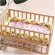 XFZDP 3 Knot Soft Baby Bed Bumper Crib Sides 3