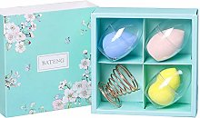 XGzhsa Makeup Sponge Set, Beauty Egg Set, 3 Pcs