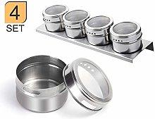 XGzhsa Spice Jar, Stainless Steel Spice Jars, Set