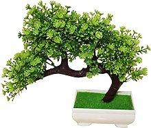 XHCP Artificial Potted Plants Desk Display