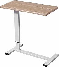 XHCP Height Adjustable Bed Lazy Desk with Wheels