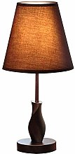 XHCP Table lamp Modern solid wood fabric table