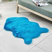 XHDM Faux Sheepskin Carpets,Quirky Shaped Shape