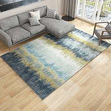 XHDM Rugs Living Room,Anti Slip Rug Modern Gray